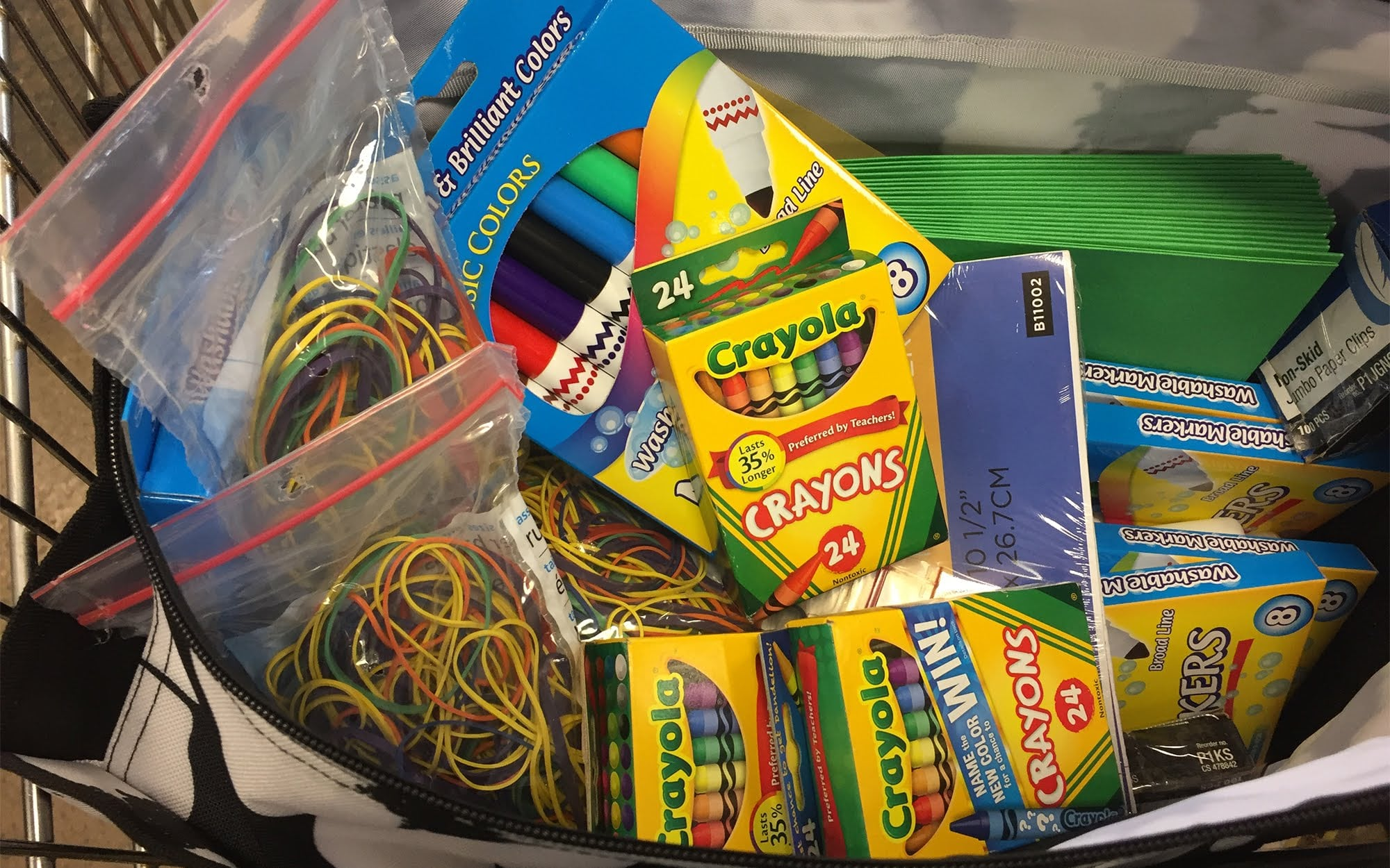 """In second grade, crayons are a big deal,"" said Yvonne Tutera, a second-grade teacher at Francis McClure Elementary in the the McKeesport Area School District."