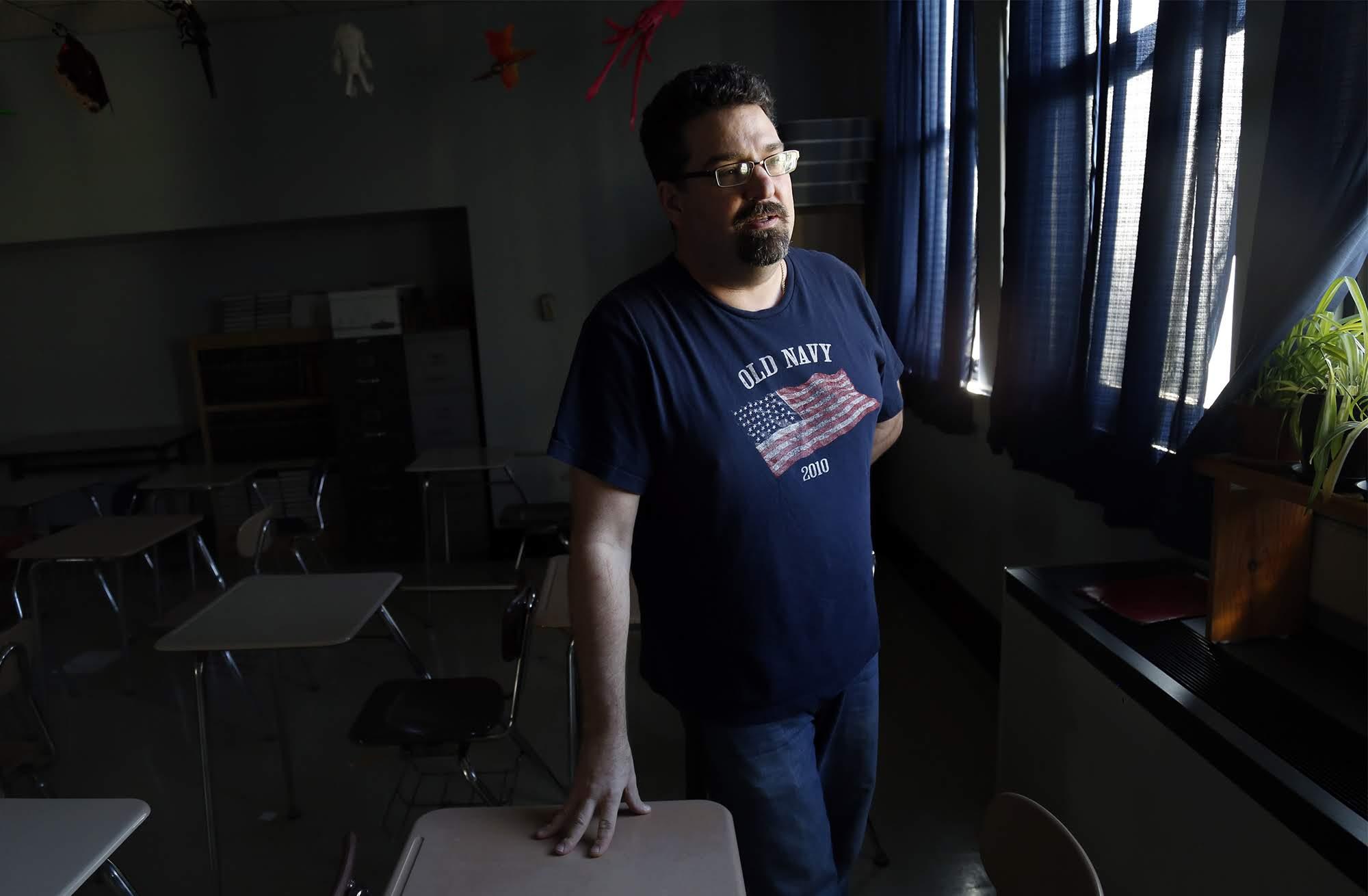Ken Lex, language arts teacher at Sto-Rox Junior-Senior High School.